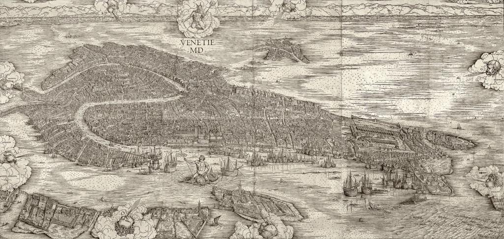 Cartina Manuzio