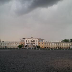 Villa e nuvole