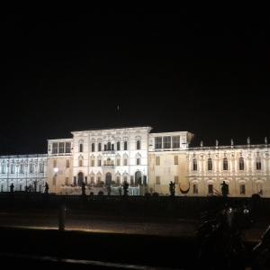 Villa illuminata